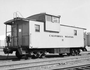 Caboose #11 in 1936