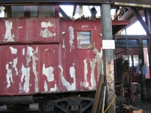 East Side of Caboose #11